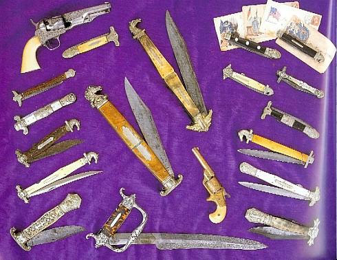Джеймс Боуи - человек и нож