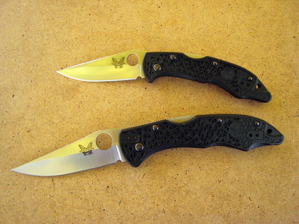 Ножи Бенчмэйд: mini-Pika и Pika