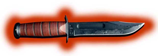 Ka-Bar 1217 USMC fighting utility